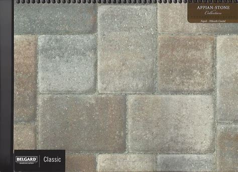 napoli appian pavers   Color Charts Concrete Pavers, Slabs
