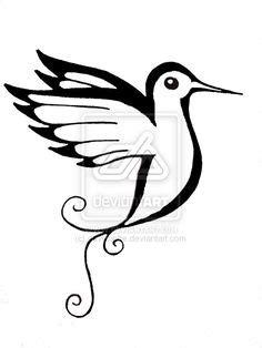 23 Best Hummingbird Outline Tattoo images | Nice tattoos, Design tattoos, Tattoo designs