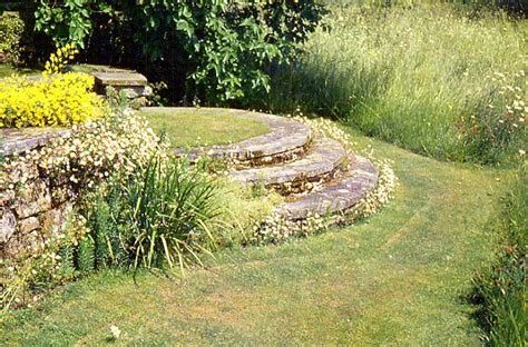 Arts And Crafts Garden With Wildflower Meadow