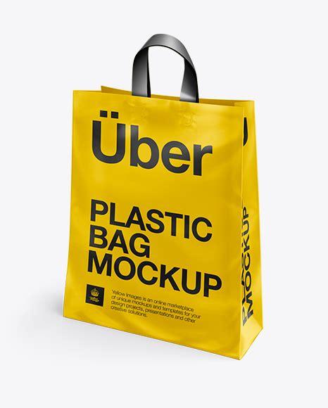 Apparel mockups bag & sack mockups barrel mockups bottle mockups box mockups bucket & pail mockups can. Plastic Shopping Bag w/ Loop Handles Mockup - Half Side ...
