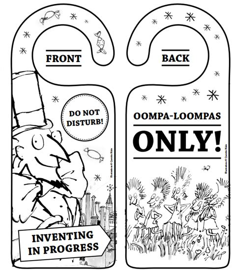 Willy Wonka Coloring Pages - Democraciaejustica