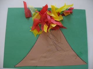 volcanoes for preschoolers it s gonna no time for flash cards 488