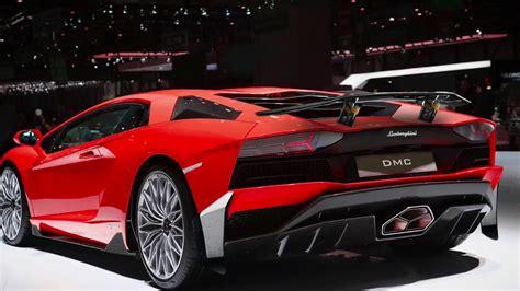 Lamborghini Aventador Rear Spoiler by Lamborghini Aventador S Carbon Fiber Wing Spoiler By Dmc