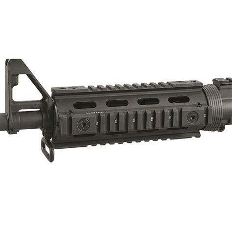 quad rail ar15 m4 ar16 accessories rifle ncstar tactical ar inch handguards m16 grips sportsman quot sportsmansguide