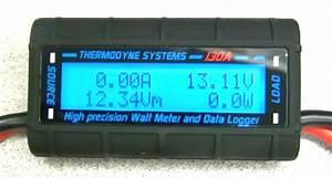 Watt Amp Meter Ammeter Amp Hours  Watt Hours  Volt Minutes