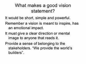 How to Write a vision Statement - cleverism