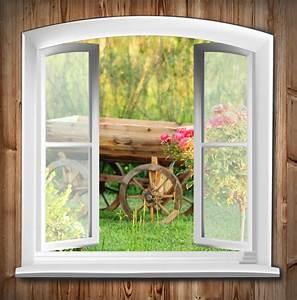 Fototapete Fenster Aussicht : fototapete fenster mit gartenblick haus gras ~ Michelbontemps.com Haus und Dekorationen