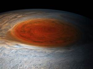 Jupiter's Great Red Spot is 200 miles deep, says new ...