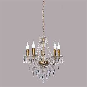 Kronleuchter Mit Kerzen Und Lampen : kronleuchter mit goldfarbenen kerzen ~ Bigdaddyawards.com Haus und Dekorationen