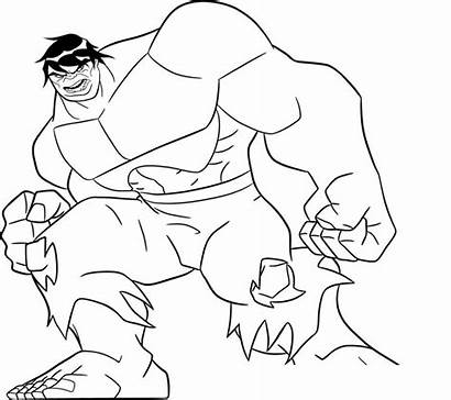 Hulk Pages Coloring Avengers Action Lego Printable
