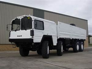 MAN 464 8x8 Drop Side Cargo Truck side loader for sale ...