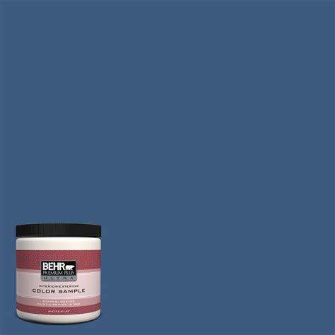 behr premium plus ultra 8 oz ppu13 9 tahoe blue interior