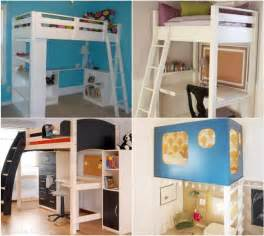 Free Loft Bed Building Plans 20 do it yourself study spaces home stories a to z