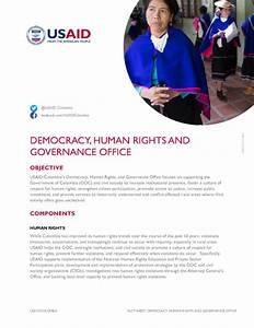 Democracy  Human Rights  And Governance Office Fact Sheet