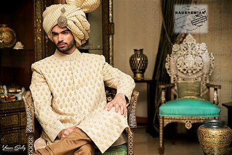 nauman afreen groom wedding sherwani designs latest