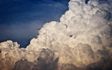 clouds, Nature, Sky, Aerial View Wallpapers HD / Desktop ...
