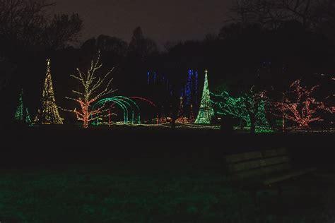 dominion garden of lights at norfolk botanical garden