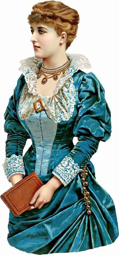 Victorian Lady Clipart Graphics Version