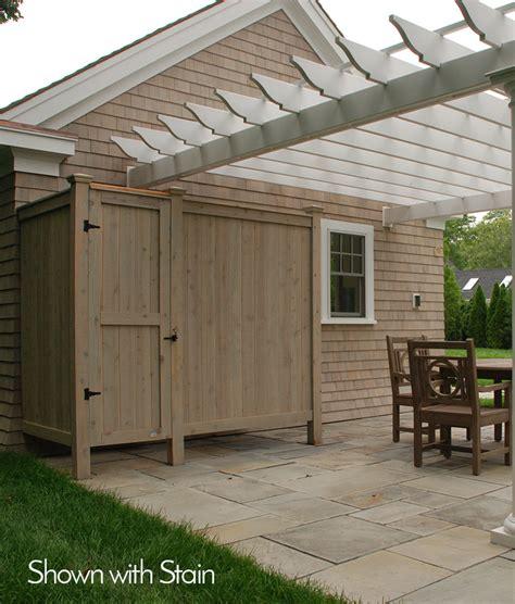 Outdoor Shower Company - outdoor shower enclosure kit cedar capecodshowerkits