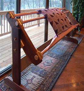 Build a very sturdy and portable quilting frame — Sandal Woods