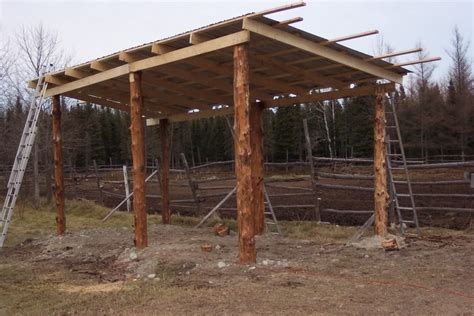 Pole Barn with Lean to Plans