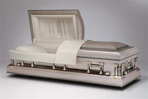 white metal bed brand name funeral caskets at wholesale prices