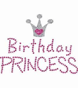 Birthday Princess - Uptown Baby Glitter Iron-On Transfer