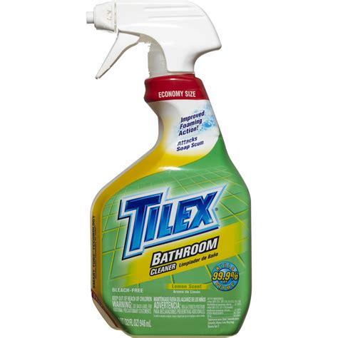 tilex bathroom cleaner 32 oz clorox tilex bathroom cleaner spray 32 oz jet