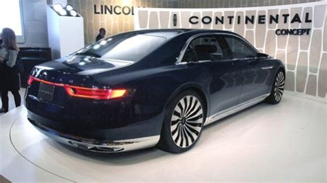 2019 Lincoln Continental Price, Specs, Rumors  Cars Clues