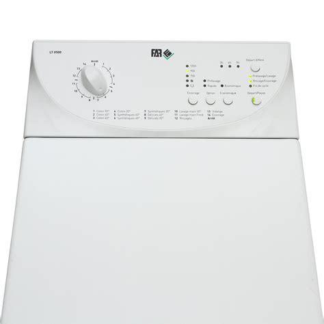 test far conforama lt0500 lave linge ufc que choisir