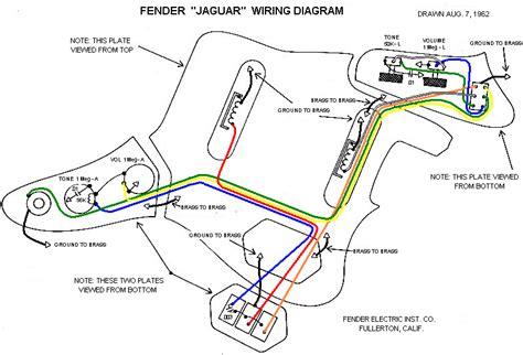 Fender Jaguar Wiring Harnes by Jaguar Wiring Help Solved Offsetguitars