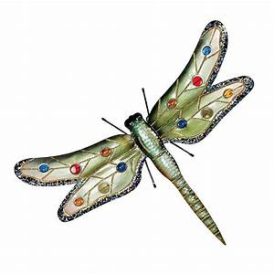 design toscano mh13328 oversized dragonfly metal wall With dragonfly wall art