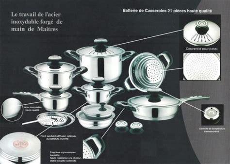batterie de cuisine dietetique table des chefs 21 pieces