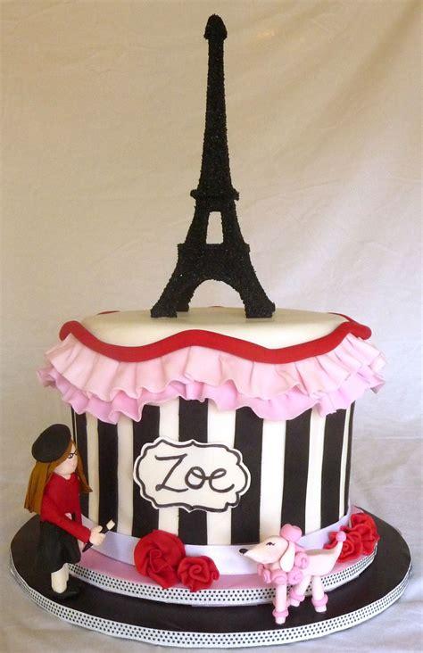 paris themed cake  cake      year