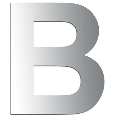 suspension de cuisine miroir adhésif lettre b majuscule 3 2 cm lettre miroir adhésive creavea