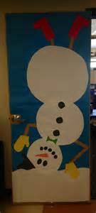winter snowman classroom door classroom door decor