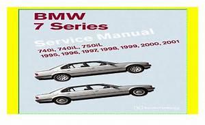 Bmw 7 Series  E38  Service Manual  1995  1996  1997  1998