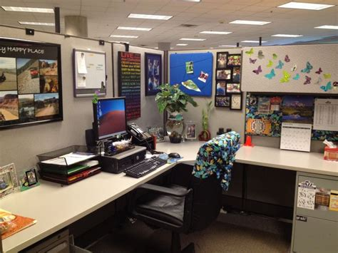 Office Cubicle Decorating Ideas by Cubicles The Butterfly And Butterflies On