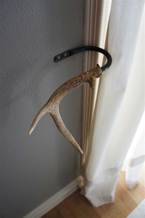 deer antler curtain rod bracket 17 best ideas about white curtain holdbacks and tiebacks