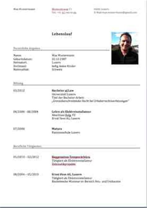 Moderner Lebenslauf Vorlage 2016 by Lebenslauf Vorlage Modern Dokument Blogs