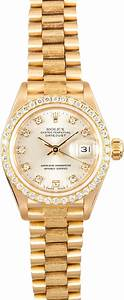 Rolex Serial Numbers Rolex Pre Owned Ladies President 69278