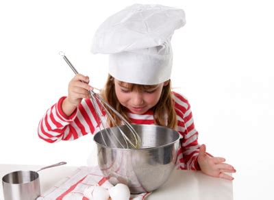 la cuisine avec les enfants les tâches adéquates