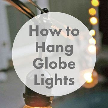 1000 ideas about outdoor globe string lights on pinterest