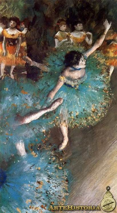 Escenario Bailarinas Artehistoria Obra Bailarina Arte Compartir