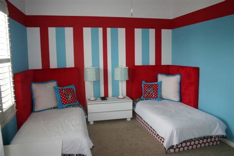 Ideas For Red, White And Blue Kids Rooms-design Dazzle