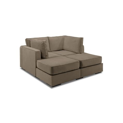 Lovesac Cost by 5 Series Sactionals Lounger Taupe Lovesac