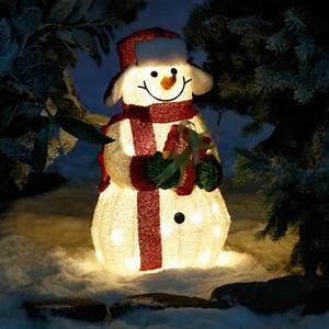 Weihnachtsbeleuchtung Für Draußen : led leucht schneemann joy online kaufen bei g rtner p tschke ~ Frokenaadalensverden.com Haus und Dekorationen