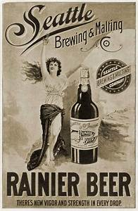 Vintage Ad ~ Seattle's Rainier Beer   Pass me a cold one ...