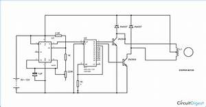 Two Stage Stepper Motor Driver Circuit
