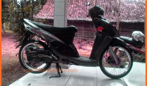 Modifikasi Mio Sporty Hitam by Mio Sporty Modifikasi Warna Hitam 2007 Modifikasimotorz